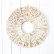 BIARRITZ FRINGED WREATH - N/A due to COVID-19  :(
